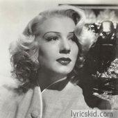 Betty Hutton Lyrics