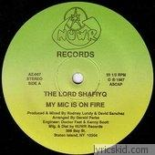 Lord Shafiyq Lyrics