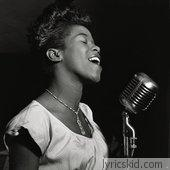 Sarah Vaughan Lyrics