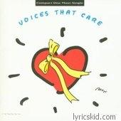 Voices That Care Lyrics